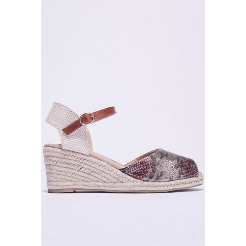 Sandales à talons compensés - BREAL - Modalova