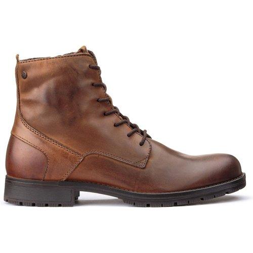 Boots en cuir Jfworca - jack & jones - Modalova