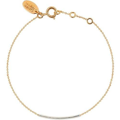Bracelet doré à l' fin et argent 925 FINELINE - CAROLINE NAJMAN - Modalova
