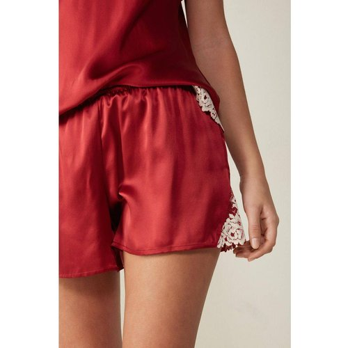 Short en soie pretty flowers - INTIMISSIMI - Modalova