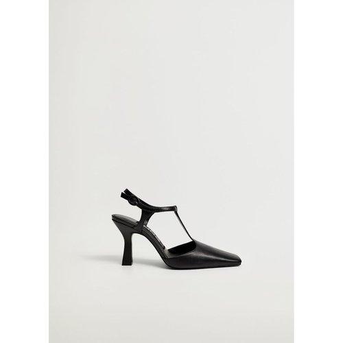 Chaussures à talon cuir - Mango - Modalova
