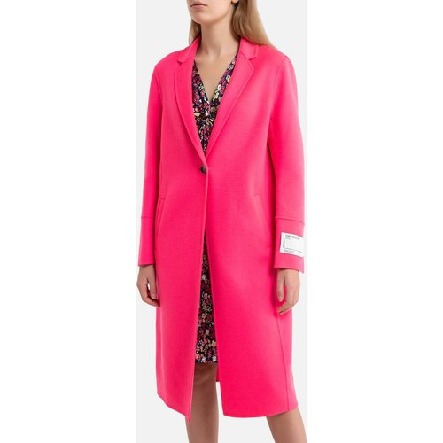 Manteau long boutonné en laine mélangé HELSINKI - OAKWOOD - Modalova
