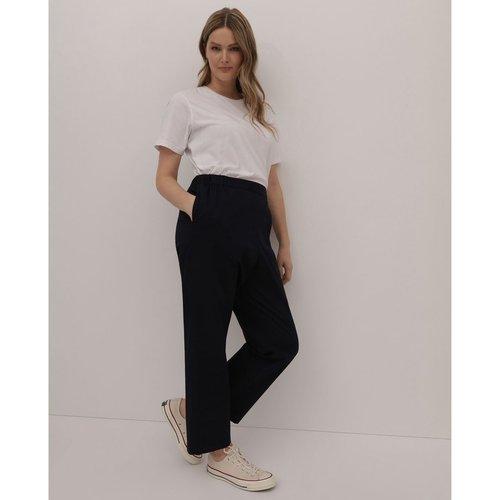 Pantalon droit Collection à taille élastique - COUCHEL - Modalova