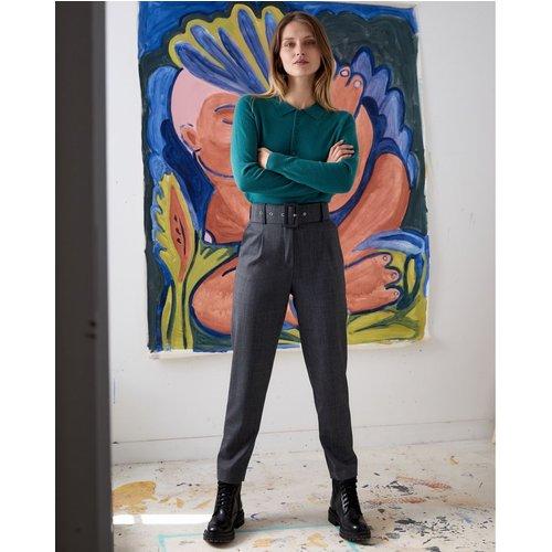Pantalon taille haute chevron, Made in France - RODIER - Modalova