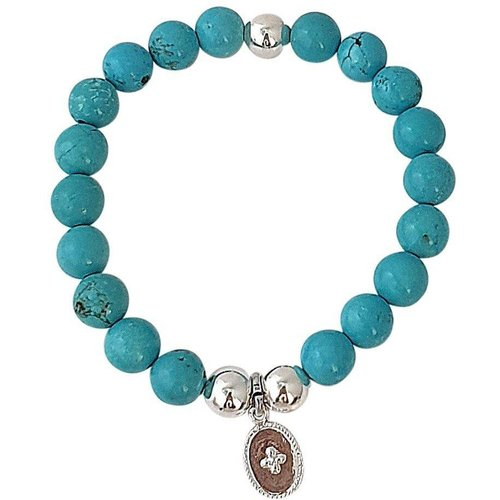 Bracelet pierres howlite SERENITY - SECRETS DES ANGES - Modalova