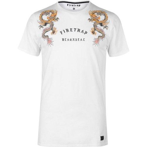 T-shirt col rond manche courte - Firetrap - Modalova