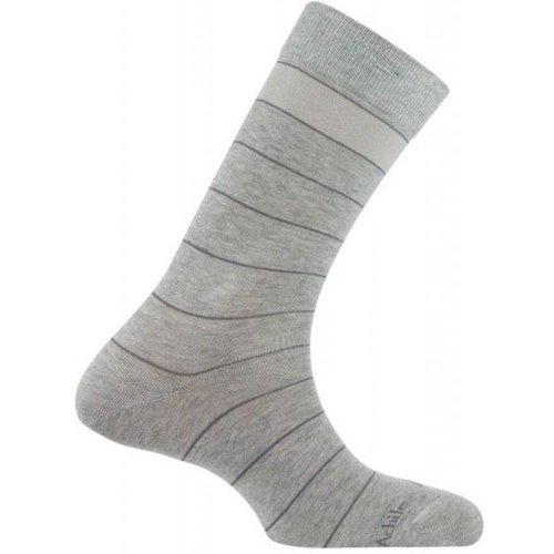 Chaussettes rayures en fil d'écosse Made in France - ACHILE - Modalova