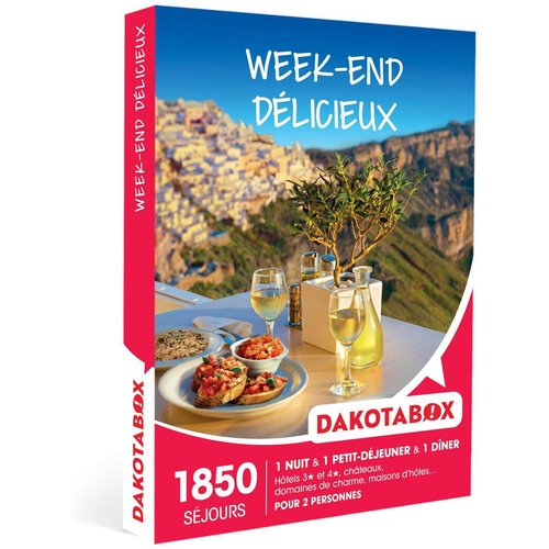 Week-end délicieux - Coffret Cadeau Séjour - DAKOTABOX - Modalova
