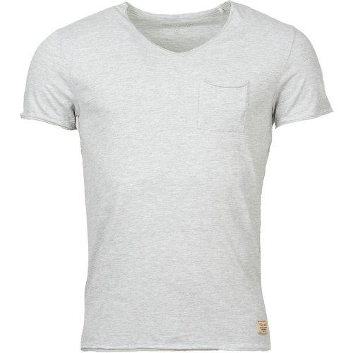 Tee-shirt coton col V T-Ago - Teddy smith - Modalova