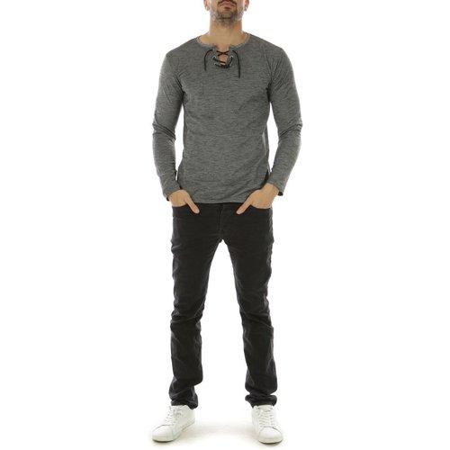 T-shirt manche longue col lacet GESMI-LS - HopenLife - Modalova