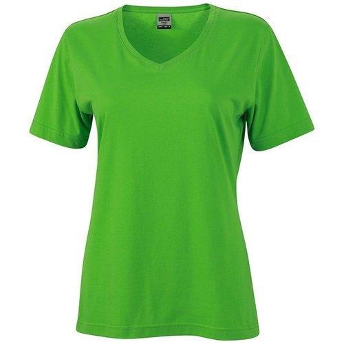 T-shirt uni col V - JN - Modalova