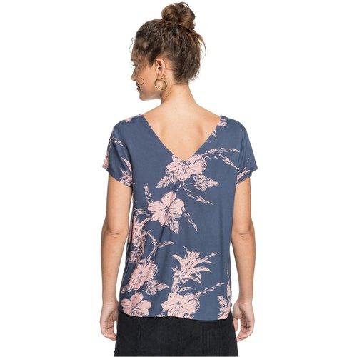 T-Shirt, fines bretelles, col rond, Uni - Roxy - Modalova