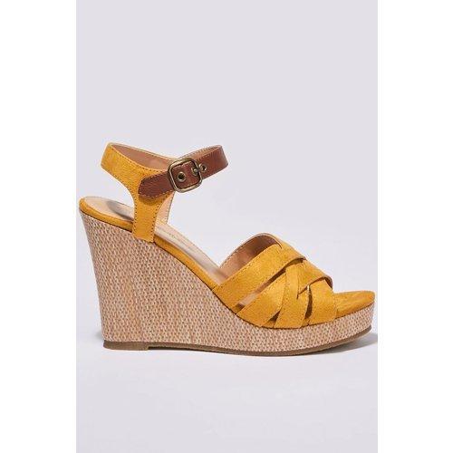 Sandales à talons compensés - BONOBO - Modalova