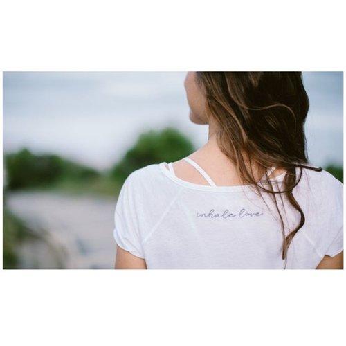 SAYA - Tee-shirt en coton lin - YOGA SEARCHER - Modalova