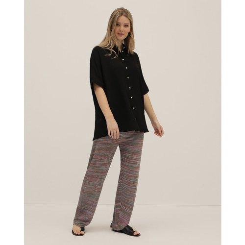 Pantalon droit en maille - COUCHEL - Modalova