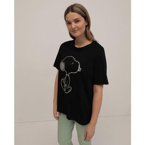 Tshirt Collection à imprimé Snoopy et manches courtes - COUCHEL - Modalova