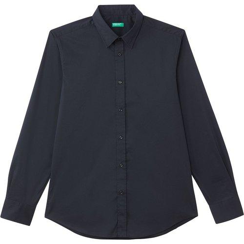 Chemise coupe slim, manches longues - Benetton - Modalova