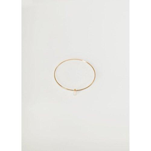 Bracelet perle pierre - Mango - Modalova