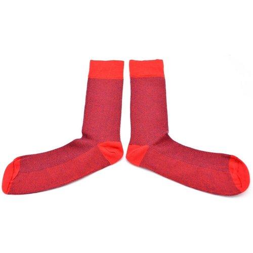 Chaussettes fantaisie coton à motifs chevrons - THE FRENCH GAME - Modalova