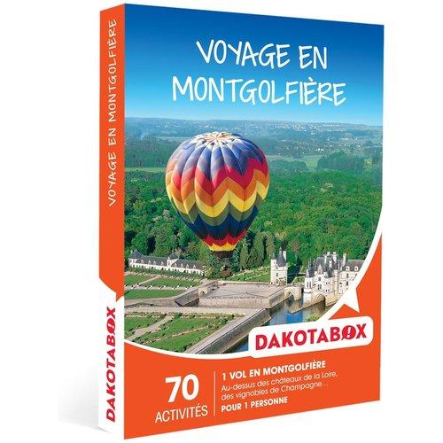 Voyage en montgolfière - Coffret Cadeau Sport et Aventure - DAKOTABOX - Modalova