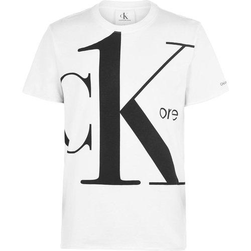 T-shirt col rond - Calvin Klein Jeans - Modalova