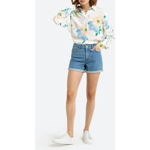 Short denim en coton bio - LA REDOUTE COLLECTIONS - Modalova