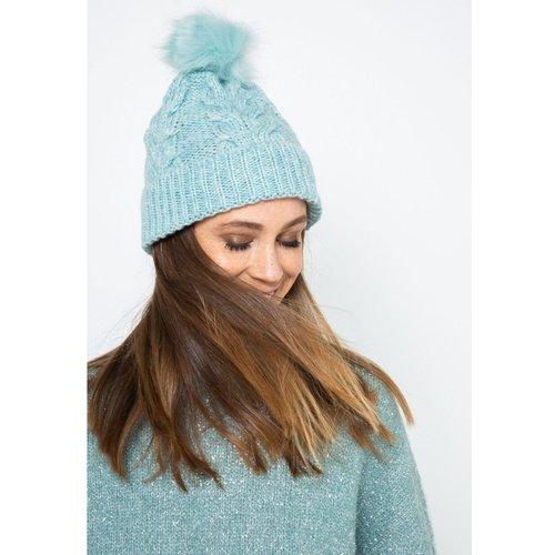 Bonnet laine mélangée - CAMAIEU - Modalova