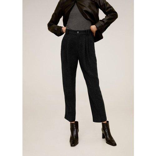 Pantalon de costume jaspé - Mango - Modalova