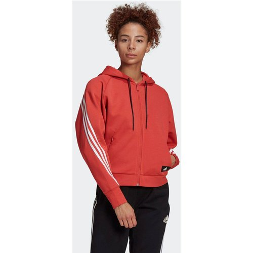 Veste à capuche adidas Sportswear Wrapped 3-Stripes Full-Zip - adidas performance - Modalova