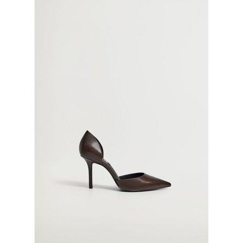 Chaussures à talon imitation serpent - Mango - Modalova