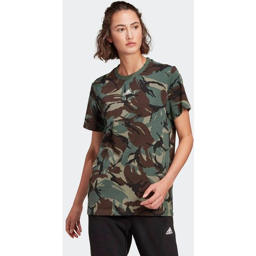 T-shirt adidas Essentials Boyfriend Camouflage - adidas performance - Modalova