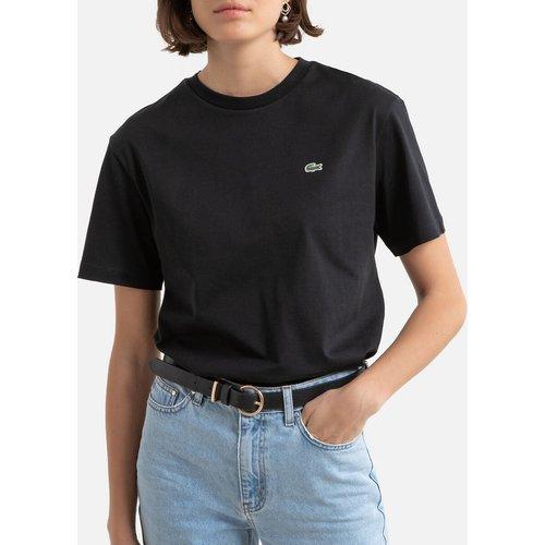 T-shirt à col rond en coton - Lacoste - Modalova