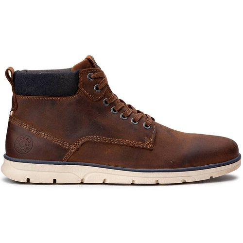 Boots en cuir Tubar - jack & jones - Modalova