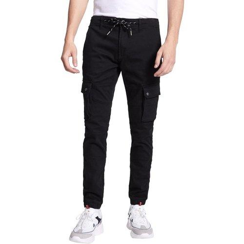 Pantalon cargo stretch avec poche et lacet - Celio - Modalova
