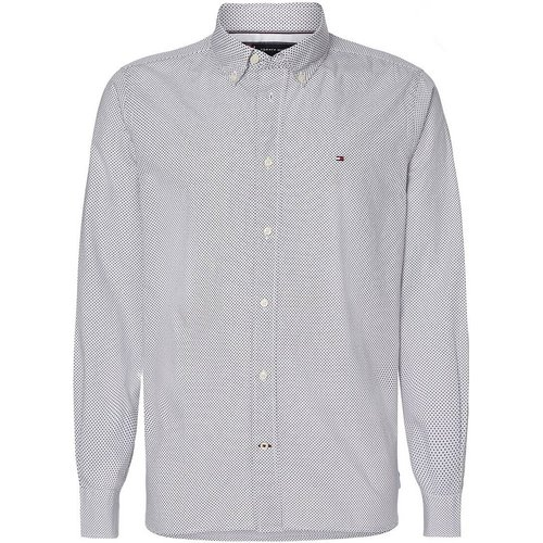 Chemise droite à motif micro bandana - Tommy Hilfiger - Modalova