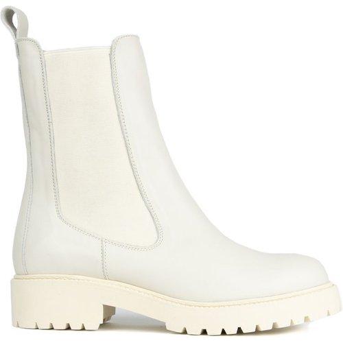 Boots Chelsea en Cuir - EVA LOPEZ - Modalova