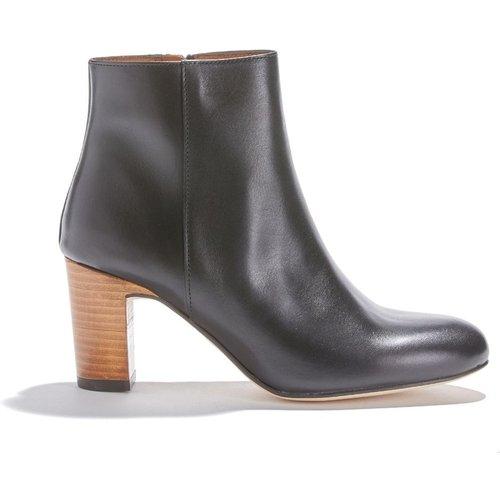 Boots cuir vachette GAIA - ANTHOLOGY PARIS - Modalova
