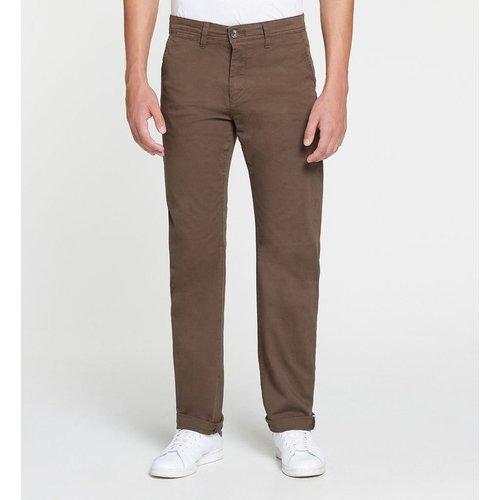 Pantalon Chino Hutrelax Droit Stretch - GALERIES LAFAYETTE - Modalova