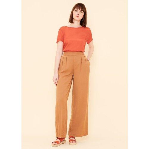 Pantalon large fluide - LA FEE MARABOUTEE - Modalova