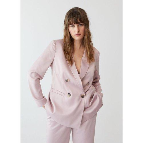 Veste de costume double boutonnage - Violeta by Mango - Modalova