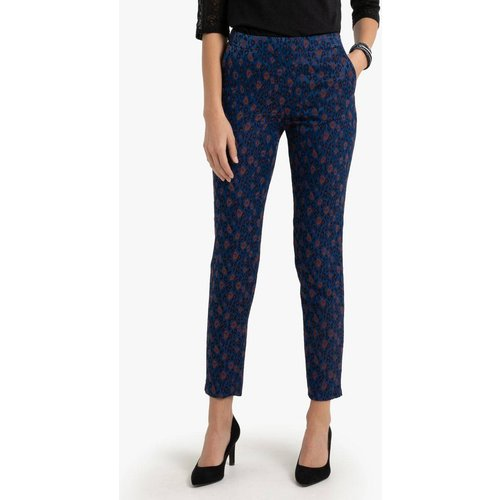 Pantalon jacquard forme slim - Anne weyburn - Modalova