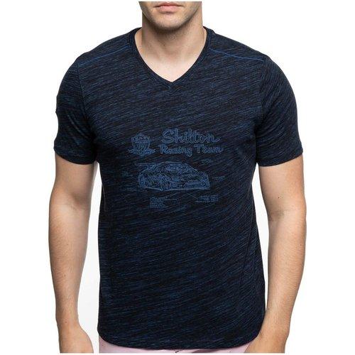 T-shirt col V motors LAMERA - SHILTON - Modalova