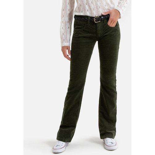 Pantalon bootcut en velours, taille haute - FREEMAN T. PORTER - Modalova