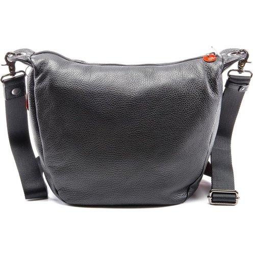 Grand sac à bandoulière zippé cuir - Mandarina Duck - Modalova