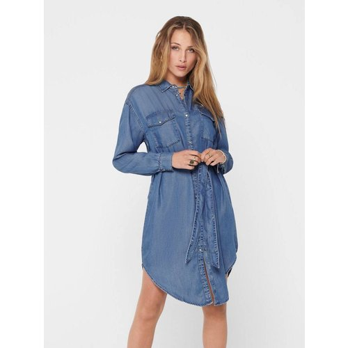 Robe-chemise Denim - Only - Modalova