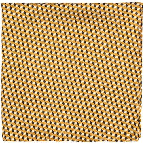 Pochette costume 100% soie imprimé géométrique - TIE RACK - Modalova