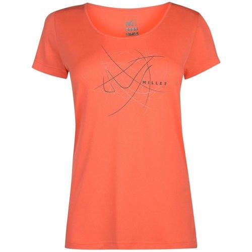 T-shirt sportif à courtes manches - Millet - Modalova