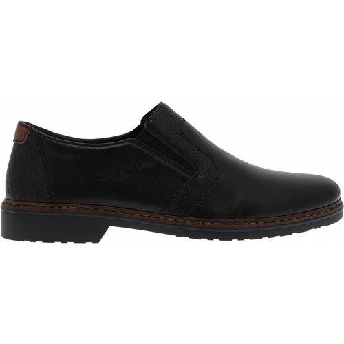 Moccassins cuir noir - Rieker - Modalova