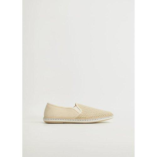 Chaussures slip-on maille filet - mango man - Modalova