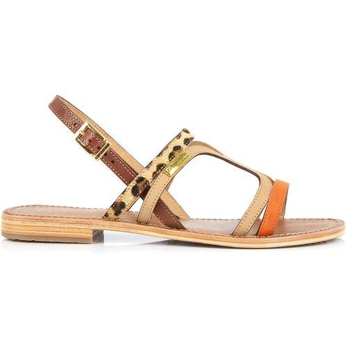 Sandales entre-doigts en cuir HONI - LES TROPEZIENNES PAR M BELARBI - Modalova